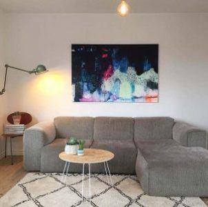 Maleri over sofa