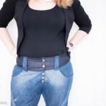 Upcycling: Jeanshosen zu Jeanshose