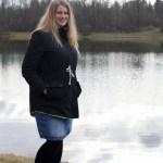 Eine Winterjacke, nicht nur für Schwangere…