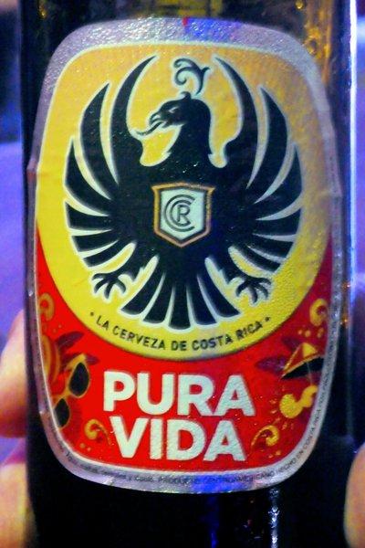 pura vida øl costa rica