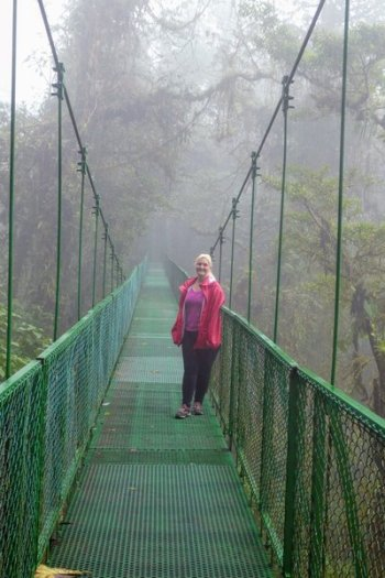 monteverde costa rica canopy tour