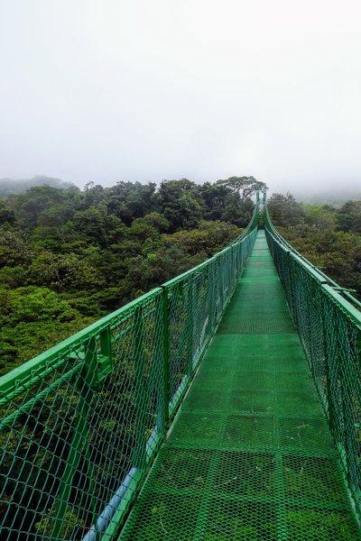 monteverde costa rica hængebro