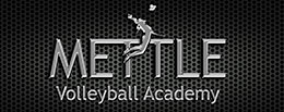mettle volleyball logo at login
