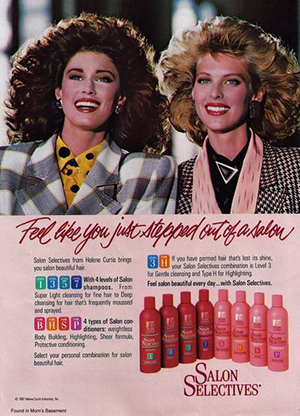 11 Totally Rad Shampoos From The 1980s You Definitely