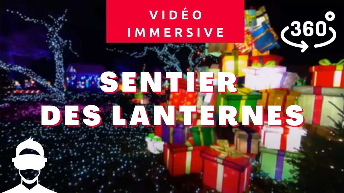 Sentier Des Lanternes Video 360