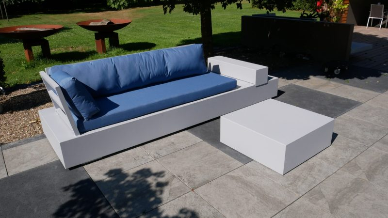 Aluminium loungebank