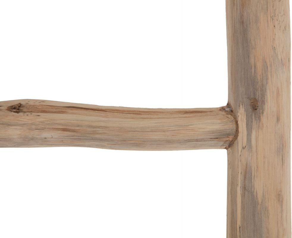 echelle deco branche de teck branche 55cm