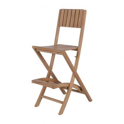 chaise haute bar bois massif