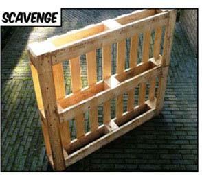 6 etapes de base pour construire vos propres meubles avec des palettes 1