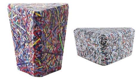 meuble en papier ecologique