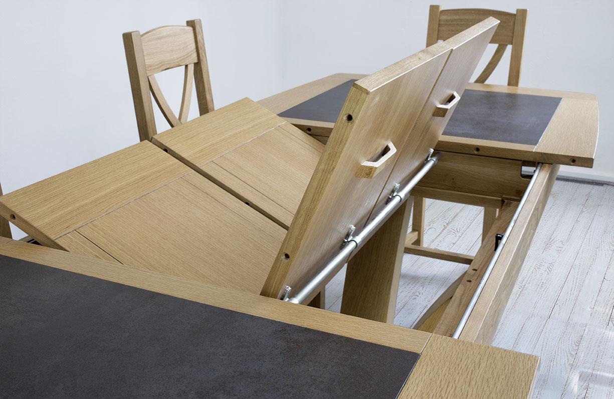 table de repas contemporaine 180x110 en
