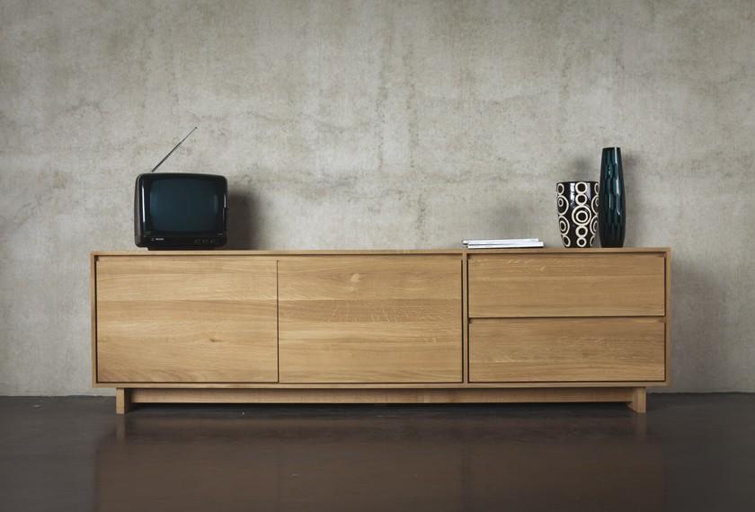 acheter meuble tv chene nordic
