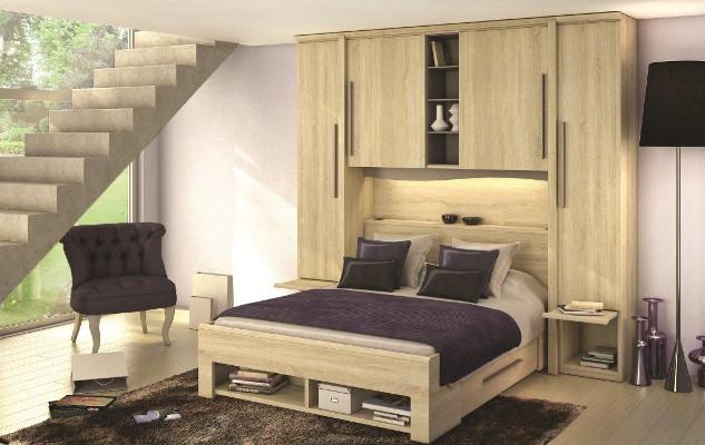 Chambres Saint Marcellin LIT PONT AVEC RANGEMENT Saint