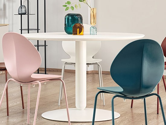 table ronde 6 personnes calligaris