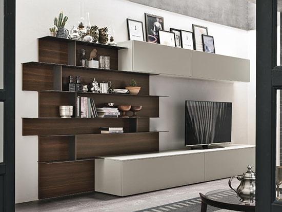 composition meuble tv design a062