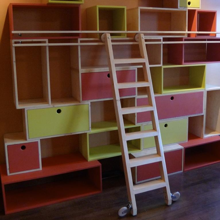 Bibliothque Pour Enfants Chelle Coulissante