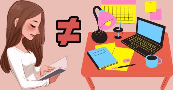 diferenca-entre-ler-e-estudar