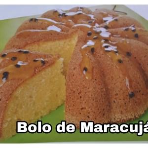 Bolo de Maracujá (Saudável)