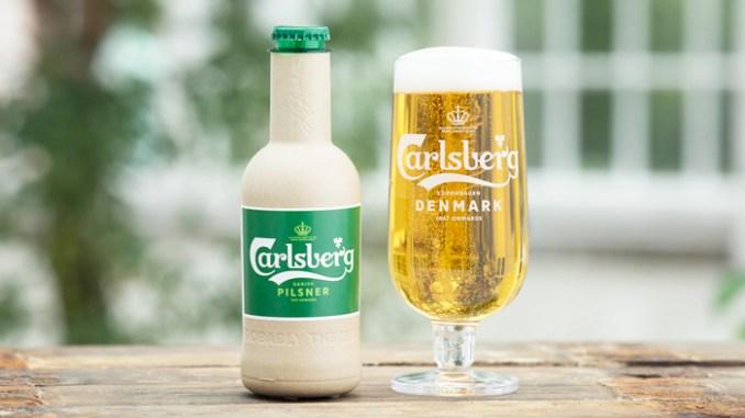 Carlsberg investe em garrafa de papel