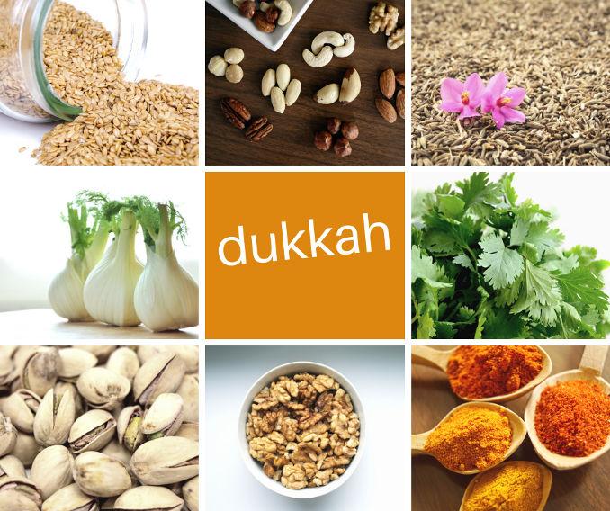 5 temperos de sucesso - Dukkah