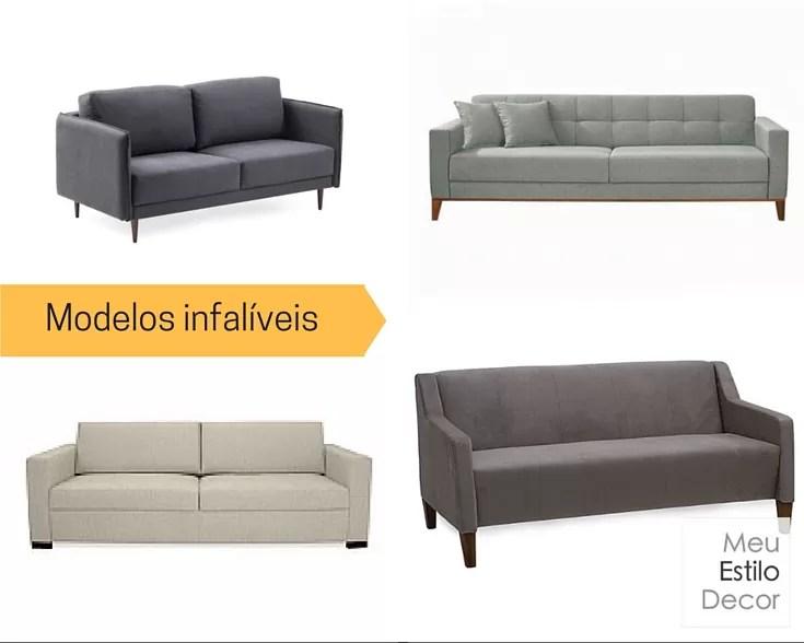 Como escolher sofa sem stress modelos infalíveis
