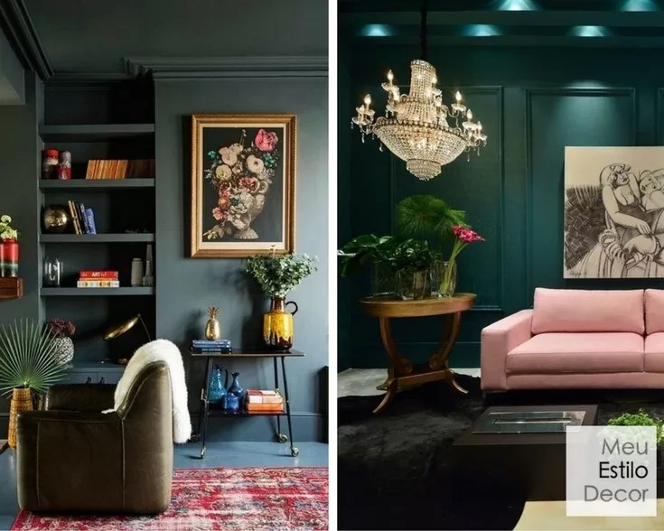 como combinar cores na decoração sem medo blocos de cor