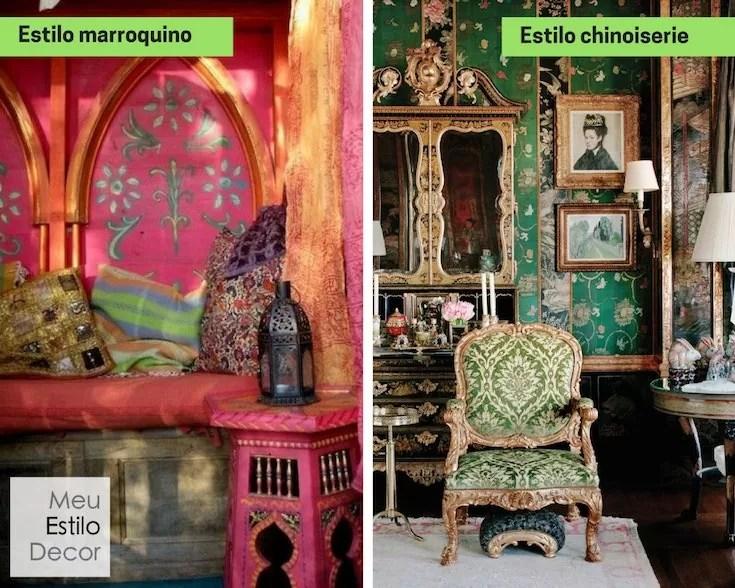 como misturar estilos de decoração como um designer contraste