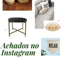 Achados de decoração no Instagram