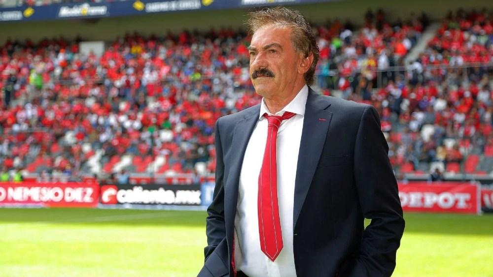 Ricardo La Volpe, técnico argentino, que há anos mora no México.