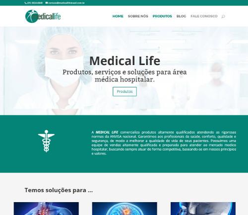 Site Ortomed Brasil
