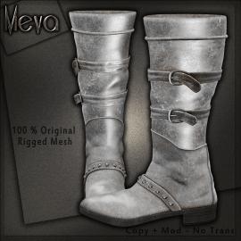 Meva Alkova Boots White Vendor