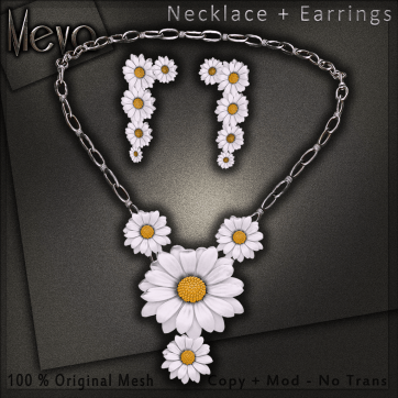 Meva Daisy Necklace Vendor