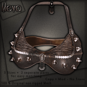 Meva Estelle Bra Brown Vendor
