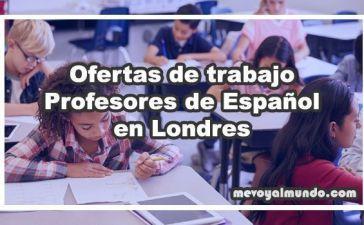 Ofertas de trabajo para profesores en Londres