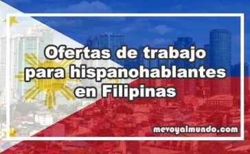 Ofertas de trabajo para españoles en Filipinas