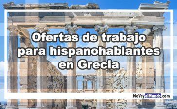 Ofertas de trabajo para personas que hablan español en Grecia