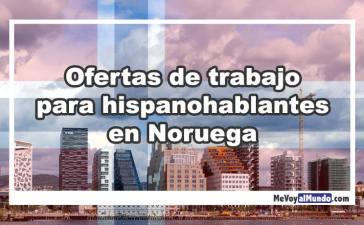 Ofertas De Trabajo Para Hispanohablantes En Noruega Mevoyalmundo