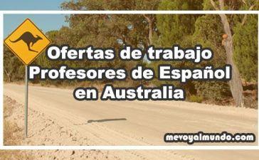 Ofertas de trabajo para profesores de español en Australia