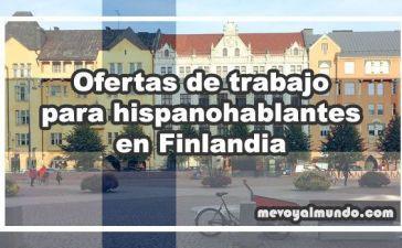 Ofertas de trabajo para hispanohablantes en Finlandia
