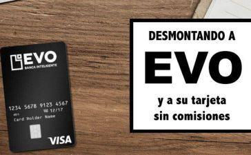 tarjeta evo sin comisiones
