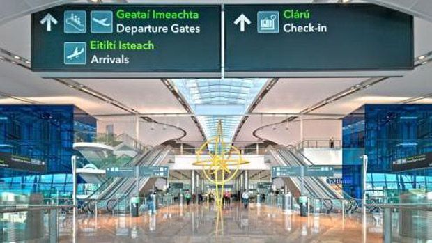 Trabajar en el aeropuerto de Dublín, en Irlanda