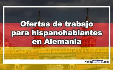Ofertas de trabajo para personas que hablan español en Alemania