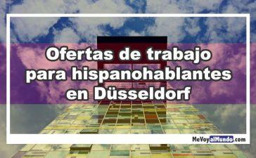Ofertas de trabajo para personas que hablan español en Dusseldorf