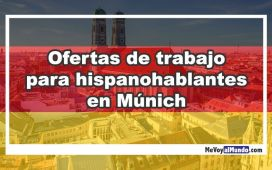 Ofertas de trabajo para hispanohablantes en Munich
