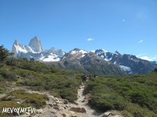 Trek with a view of FItz Roy