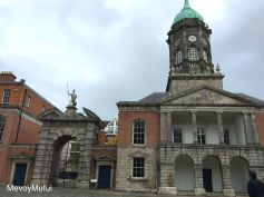 This is part of the Dublin Castle but this Castle was English so it created tension with the Irish.
