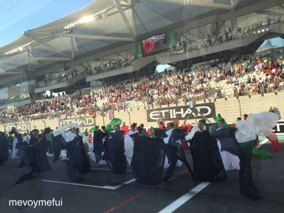 Beginning of F1 Finals