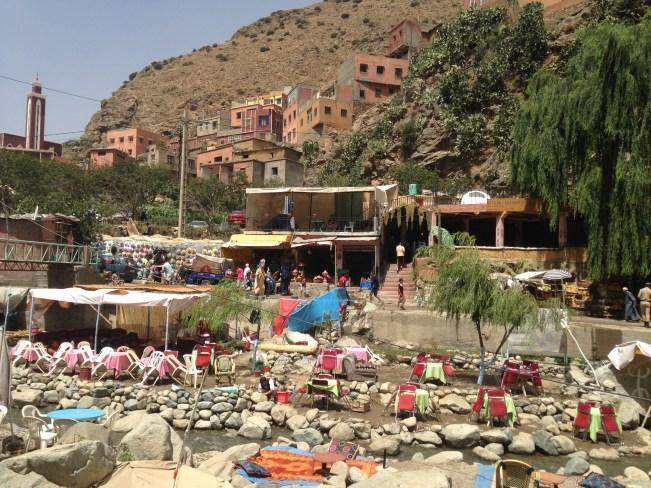 restaurants at high atlas mountains