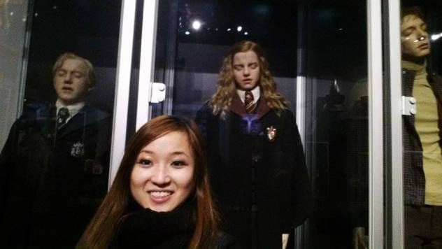Hermione Harry Potter Studio Tour London