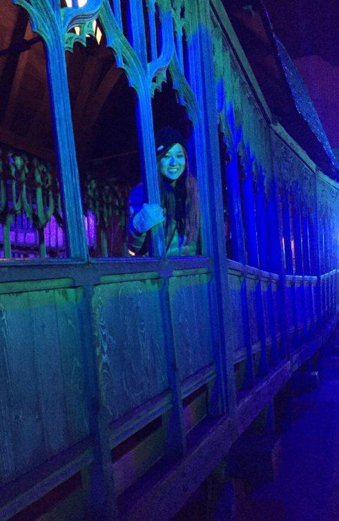 Wooden Bridge Harry Potter Studio Tour
